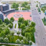 Скверы на площади Труда